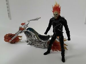 Ghost Rider & Hell Cycle EZHOBI Toys Marvel 1/9 Scale Action Figure Accessories