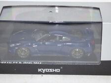 KYOSHO NISSAN GTR (R35) 2014 AURORA FLARE BLUE PEARL REF 03744ABL