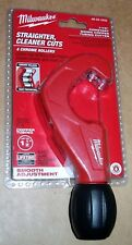 "MILWAUKEE 48-22-4252 COPPER PIPE TUBING CUTTER 1/2"" 3/4"" 1-1/2"" CONSTANT SWING"