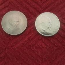 British Crown Coin 1965 Winston Churchill Elizabeth II Great Britain UK