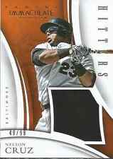Nelson Cruz 2015 Panini Immaculate Collection Hitters jersey card 5 /99
