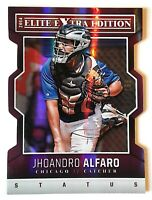 2014 PANINI ELITE EX. ED. JHOANDRO ALFARO #2  #/150 PURPLE DIE CUT STATUS