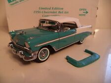 Danbury Mint Chevrolet Belair Convertible Limited Edition 1956 In Box