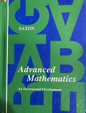 Saxon Advanced Mathematics Student Text Hardback