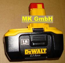 1x Dewalt DE 9180 Ersatz-Akku, 18V-2,0Ah Li-Ion, DE9180, Stecksystem