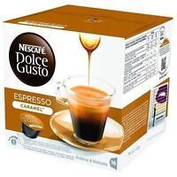 96 CAPSULE CAFFE' NESCAFE DOLCE GUSTO ESPRESSO CARAMEL BREAK SHOP