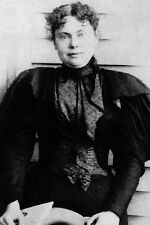 New 5x7 Photo: Lizzie Borden, Massachusetts Socialite and Accused Murderer
