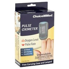 ChoiceMMed Pulse Oximeter Portable Fingertip Pulse Rate NEW IN BOX