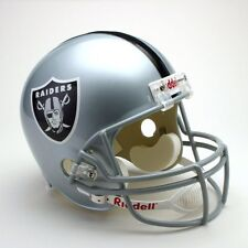 OAKLAND RAIDERS Full Size Replica Helmet  (3 PACK BOX) - 3 TOTAL HELMETS