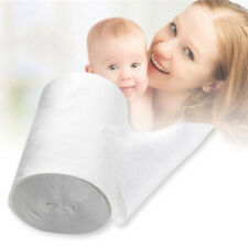100 Sheets 1 Roll Kids Diaper Flushable Cloth Nappy Bamboo Liners Disposable Ld