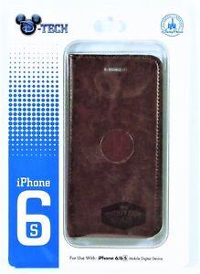 Disney Exclusive Twenty Eight Main Leather Wallet Apple Iphone 6S Cellphone Case