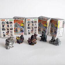 """Bandai Godzilla Candy Toys """" kaiju oh kurabu """" Finger Puppet - 5 Pcs"""