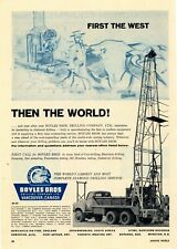 1962 Boyles Brothers Drilling Co. Ad: Diamond Drilling Rigs - Vancouver, Canada