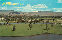 Chrome ID Postcard C520 Ann Morrison Park Boise Idaho Business District 1971