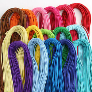 45m 2mm Colorful High-Quality Round Elastic Band Round Elastic Rope Rubber Band