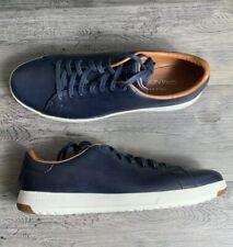 Men's Cole Haan GrandPro Blue White Leather Sneaker Size 9.5M  C22586 NIB