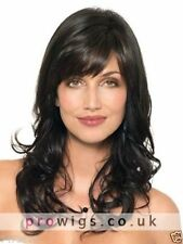 100% Real hair! Fashion wig New Women's Long Black Curly Human Hair Wigs