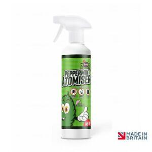 500ml British Basics Peppermint Essential Oil Atomiser Spider Repellent  BB1