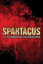 Spartacus: The Complete Collection (DVD, 2014, 13-Disc Set)  All 4 Seasons!!