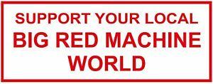 """011a HELLS ANGELS Support 81 Sticker Aufkleber """"BIG RED MACHINE WORLD"""" groß"""