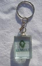 RENAULT Glas Schlüsselanhänger Keyring NEU (A8.1)