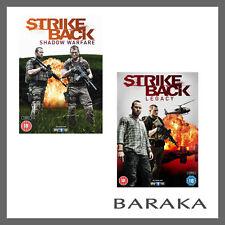 Strike Back Legacy + Shadow Warfare Series Season 4 + 5 DVD Region 2 New