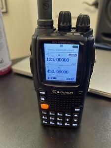 WOUXUN KG-UV9D Plus Two Way Radio - Black