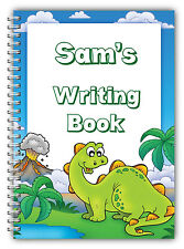 A5 PERSONALISED CHILDREN'S NOTEBOOKS/50 WRITE HAND WRITING PRACTICE PAPER/ 03