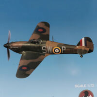 Hawker Hurricane Mk HB diecast 1:72 Scale Metal Model with Display Stand Toy