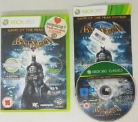 Batman: Arkham Asylum: Game of the Year Edition (Xbox 360) Adventure Great Value