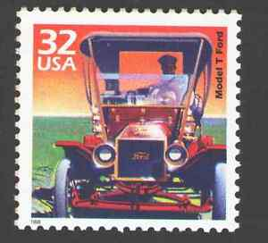 US. 3182a. 32c. Model T Ford. Celebrate The Century. MNH. 1998