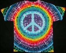 Tie dye dyed t-shirt hippie hippy grateful dead LARGE  #10