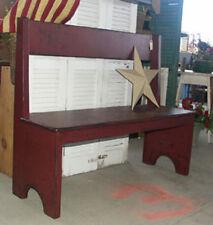 Primitive Hall Porch Table Bench Pattern/Plan WN135