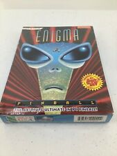 Enigma The Absolute Ultimate In PC Pinball Game New Factory Sealed Epic PCFun