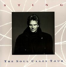 Sting 1991 The Soul Cages Tour Concert Program Book Booklet / Nmt 2 Mint