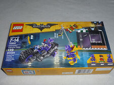 NEW IN BOX 70902 LEGO CATWOMAN CATCYCLE CHASE THE BATMAN MOVIE NIB SET 139 PCS >