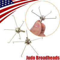 Judo Broadheads 5 Long Claws Head 100gr Hunting Small Game Bow Arrow Point Tips