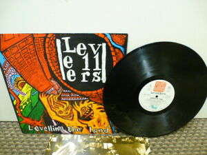 """The Levellers - Levelling The Land 12"""" Vinyl Record Album VGC"""