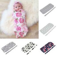 Infant Baby Newborn Sleeping Bag Swaddle Blanket Stroller Wrap Sleep Sack Set