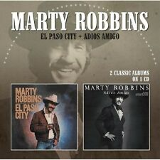 Marty Robbins - El Paso City / Adios Amigo [New CD] UK - Import