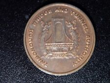 TRIBOROUGH BRIDGE AND TUNNEL AUTHORITY TOKEN!  KK233X