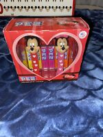 Disney Mickey Mouse And Minnie Mouse Heart Set Of 2 Pez Dispensers NIB