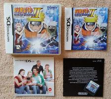Naruto Ninja Destiny II DS Nintendo / complet . Fr