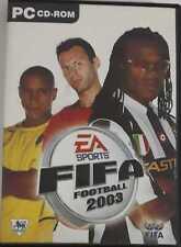 EA Sports FIFA Football 2003 PC CD ROM Spiele