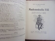 MADEMOISELLE FIFI  Guy de Maupassant  illustrations de L.Vallet