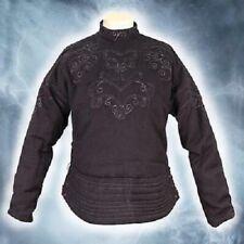 Medieval Gambeson Reenactment Amazing Black Color Best Look Fancy Style