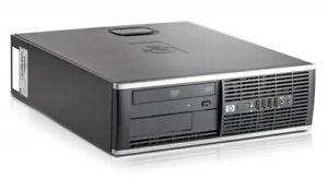 PC HP Compaq 8100 Elite Core i5 I5-650 3.2 GHz 2 GO 250 GO DVDrw WIN 7 PRO