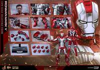(US) HOT TOYS 1/6 MARVEL IRON MAN 2 MMS400D18 MK5 MARK V DIECAST ACTION FIGURE