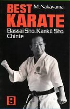 Best Karate, Volume 9: Bassai Sho, Kanku, Sho, Chinte (Paperback or Softback)