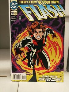 FLASH #92 (1994)  NM- 1st appearance IMPULSE